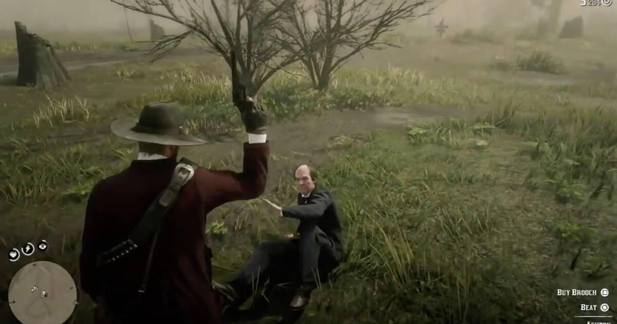 Red Dead Redemption 2: Un afortunado tiro al aire se hace viral