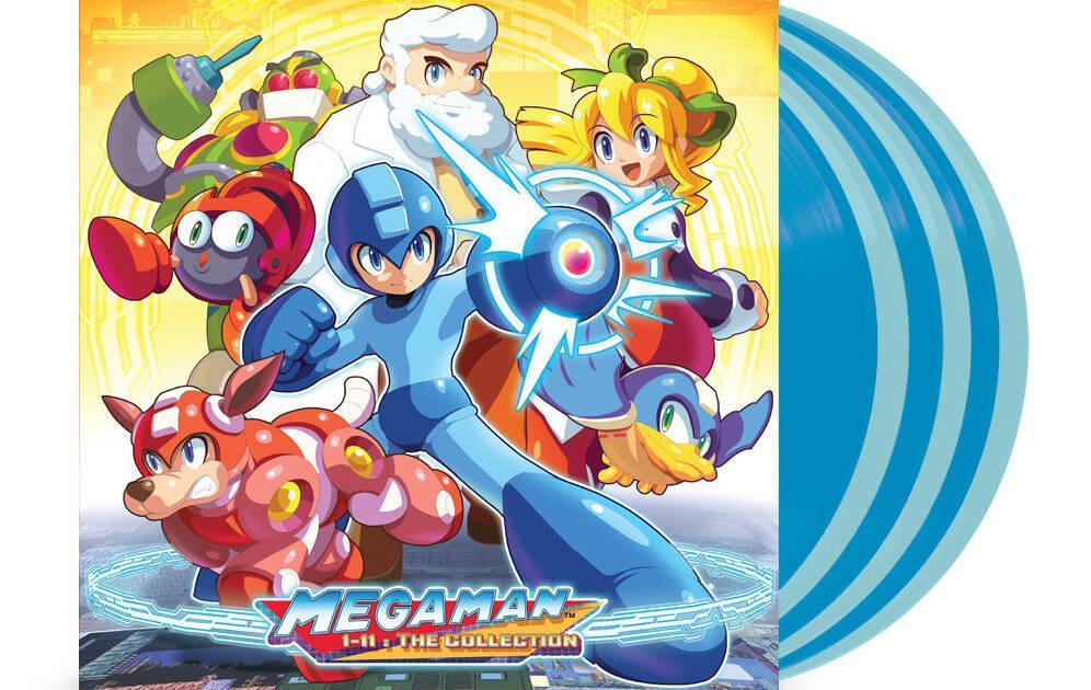Anunciada la banda sonora de la saga Mega Man en seis vinilos de lujo