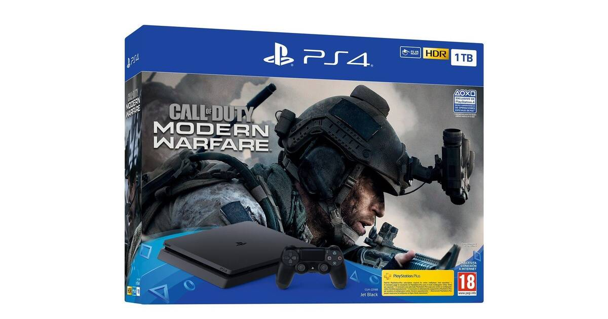 Sony anuncia un nuevo pack de PS4 con Call of Duty Modern Warfare