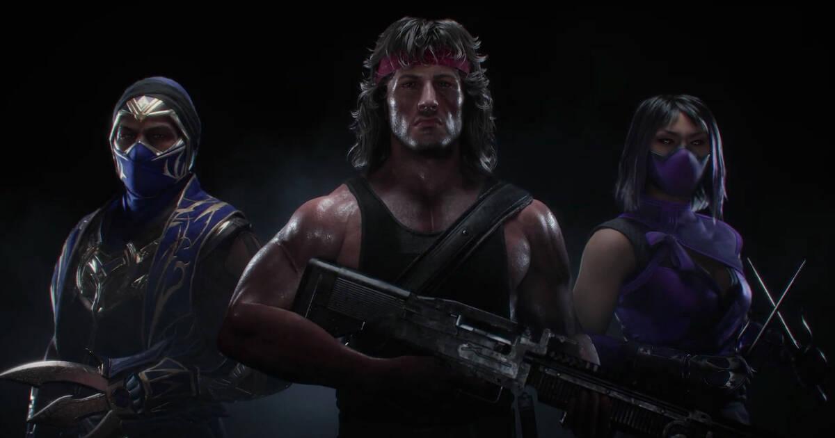 Rambo pelea en Mortal Kombat 11 Ultimate — TRAILER