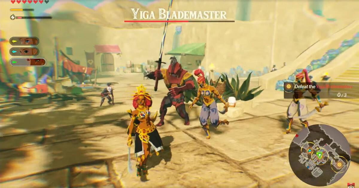 Hyrule Warriors Age Of Cataclysm Teaches Gameplay Featuring Urbosa Zelda Impa And More Archyde