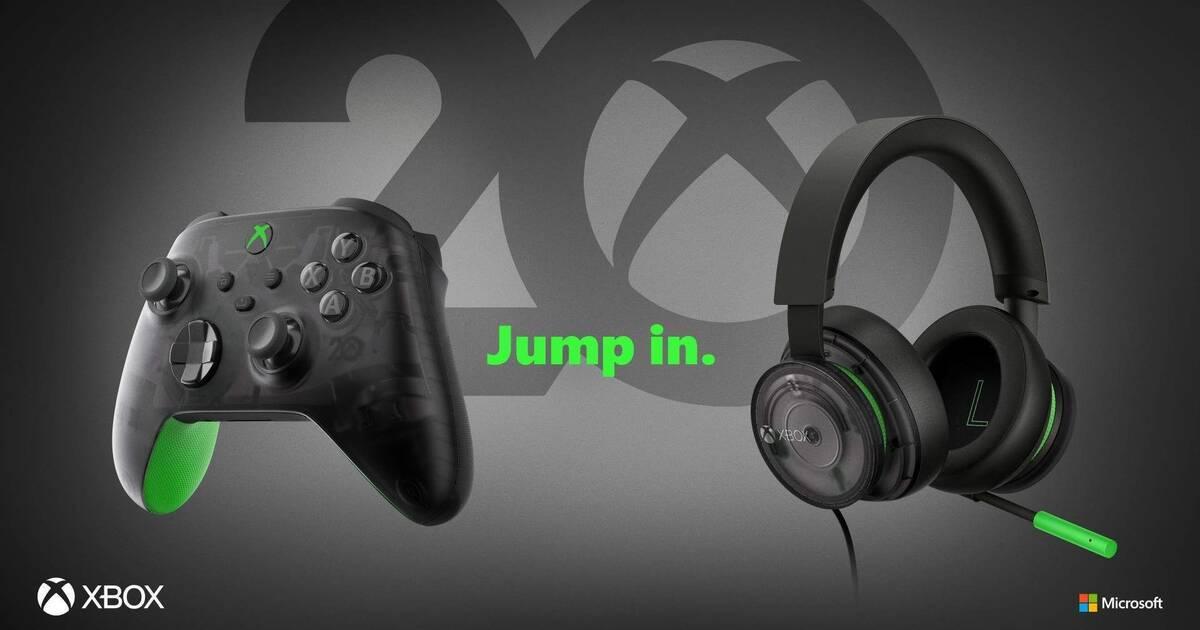 Xbox lanza un mando edición especial para celebrar su 20 aniversario -  Vandal