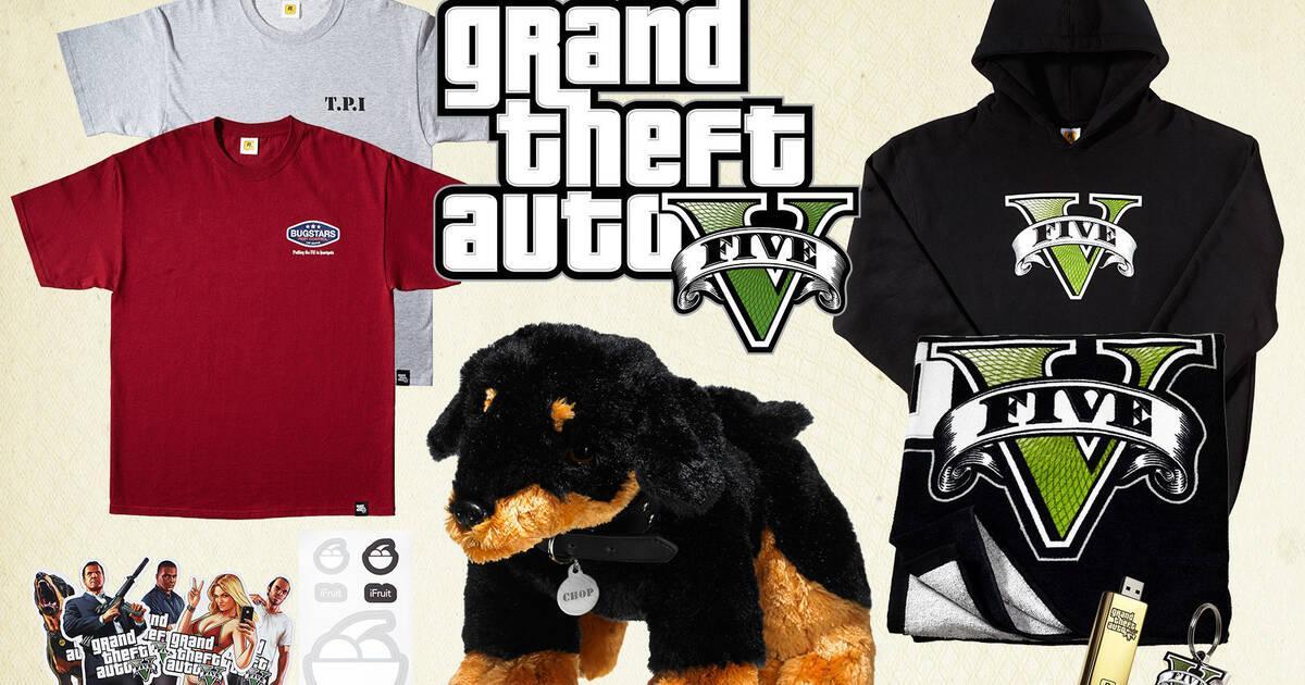 Sorteamos cinco packs de merchandising de Grand Theft Auto V