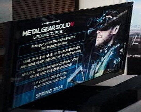 Metal Gear Solid V: Ground Zeroes tendrá contenidos exclusivos en PS3 y PS4