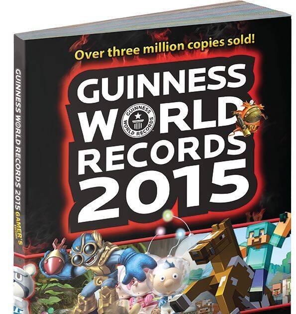 Ya disponible el libro Guinness World Records 2015 Gamer's Edition