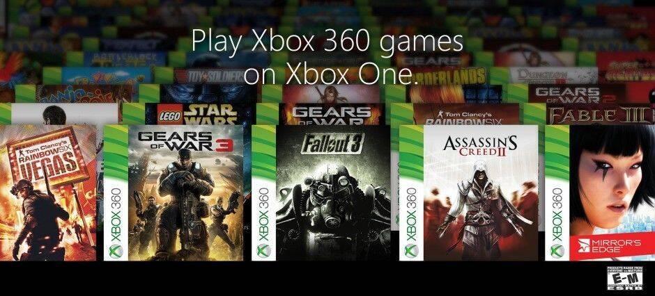 Desvelada la lista oficial de juegos retrocompatibles con Xbox One