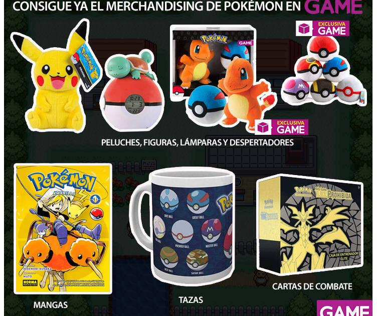 GAME detalla su merchandising de Pokémon para recibir Pokémon Let's GO!