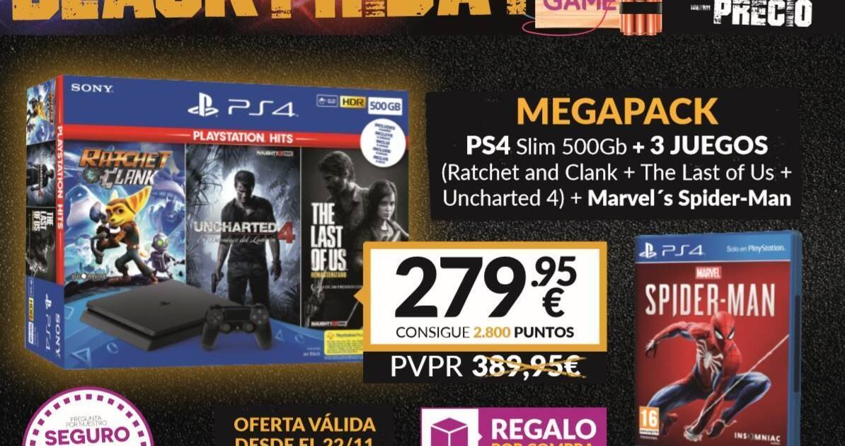 Black Friday 2018 Game Presenta Su Pack Exclusivo De Ps4 Mas 3
