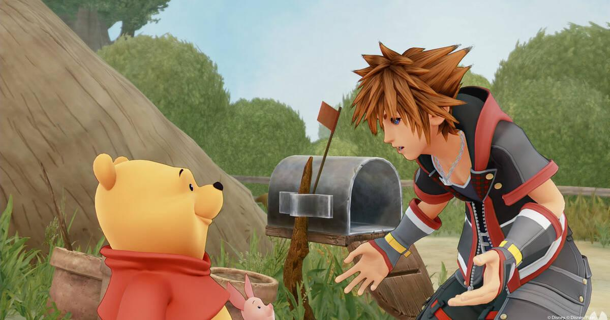 Censuran Kingdom Hearts 3 en China por la presencia de Winnie Pooh