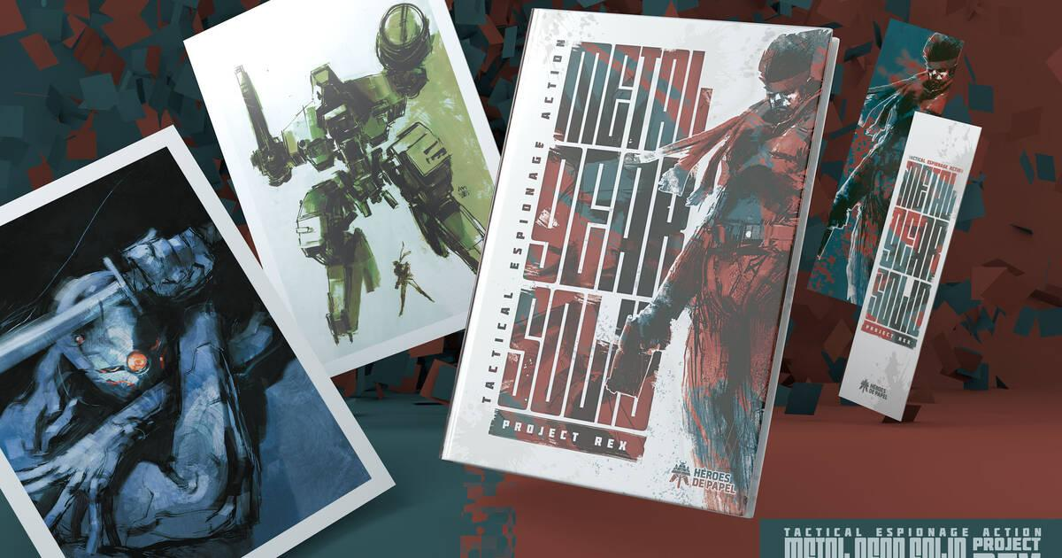 Héroes de Papel anuncia el cómic Metal Gear Solid: Project Rex