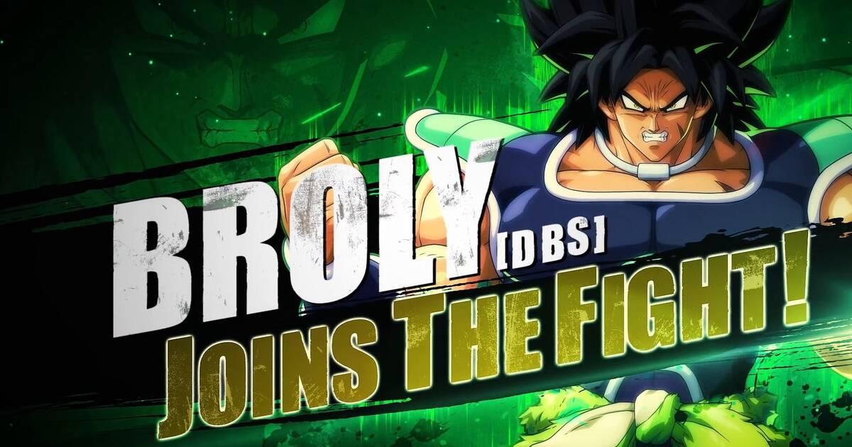 Dragon Ball FighterZ: Broly, que llegará pronto, muestra su fuerza en un nuevo tráiler