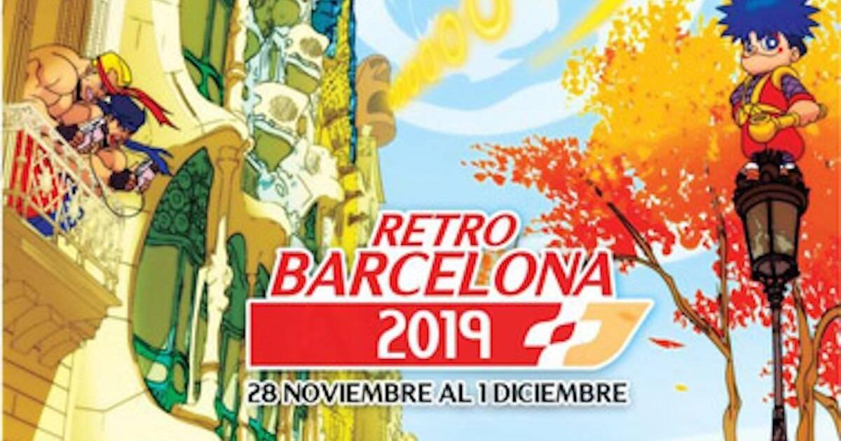RetroBarcelona celebrará el 50º aniversario de Konami, el nacimiento de Game Boy y más