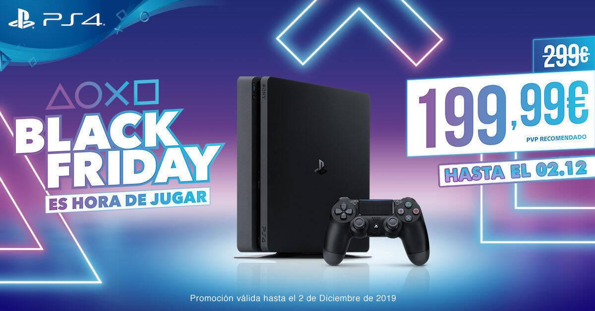 Oferta: PlayStation 4 por 199 euros por Black Friday