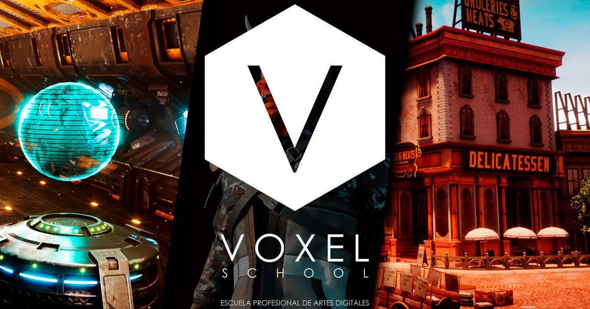 Especialízate en las industrias de videojuegos AAA, cine y la publicidad con Voxel School