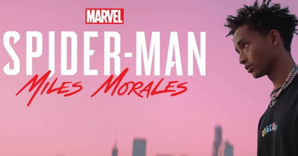 Spider Man Miles Morales Y Jaden Smith Colaboran En Una Canción Inspirada En El Juego Vandal
