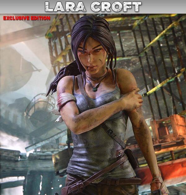 El reinicio de Tomb Raider ya cuenta con una figura oficial