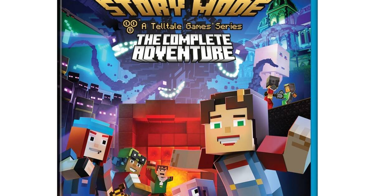 Minecraft Story Mode: The Complete Adventure llega a Wii U