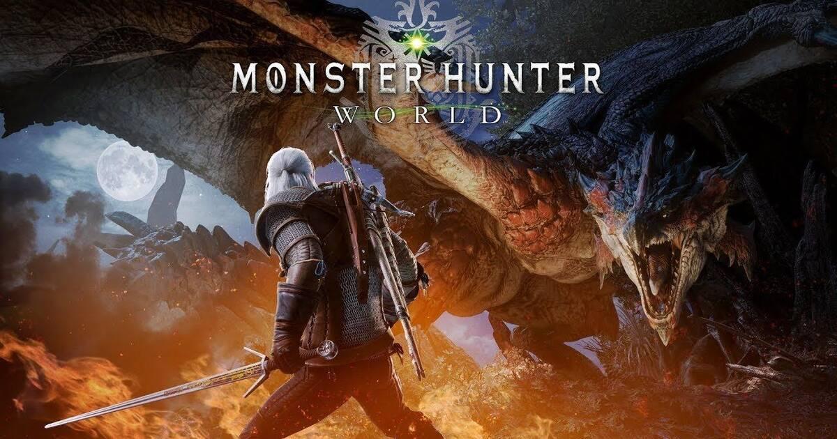 Geralt of Rivia llega al mundo de Monster Hunter: World