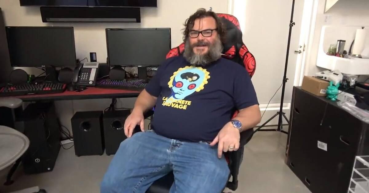 Jack Black lanza un canal de YouTube dedicado a los videojuegos