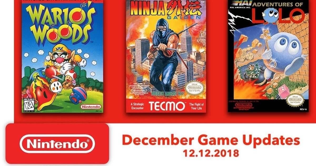 Tres Nuevos Juegos De Nes Para Nintendo Switch Online El 12 De