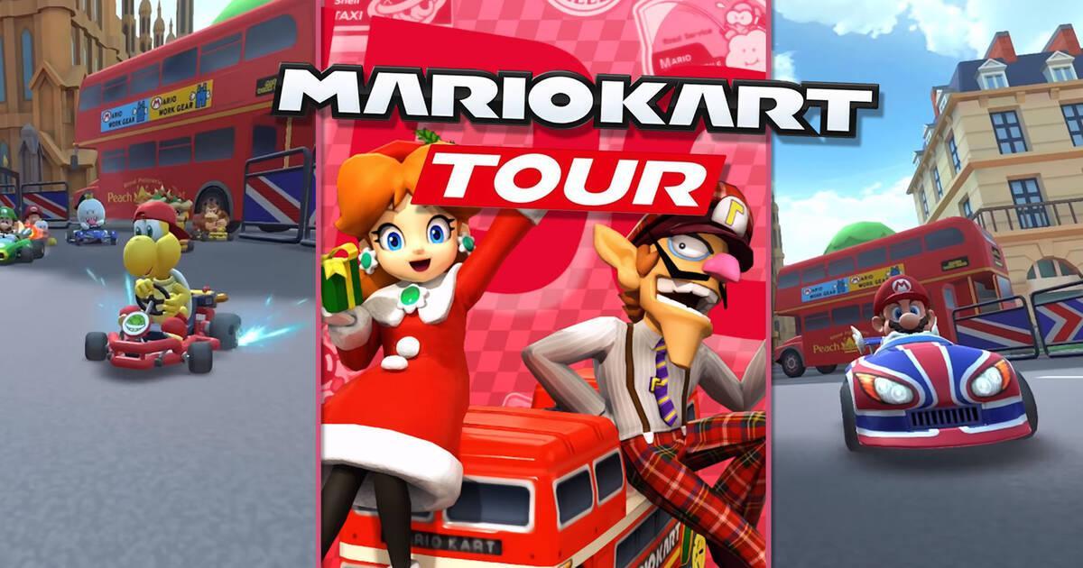 Mario Kart Tour Desafios De La 2ª Semana De Londres Y Sus
