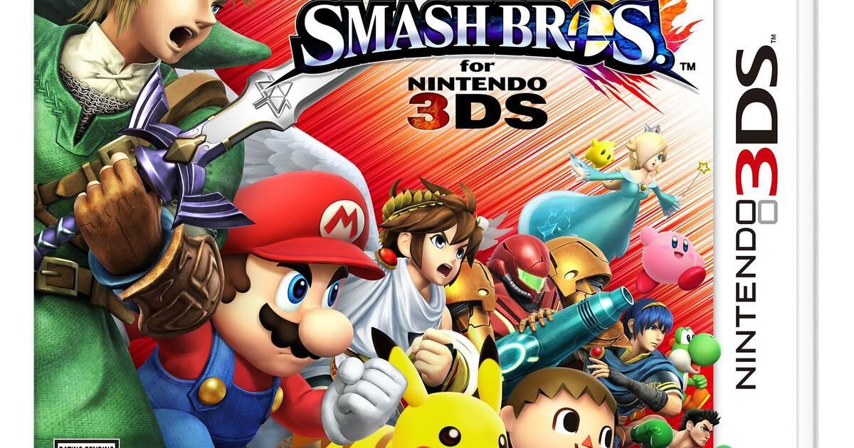 Super Smash Bros. muestra a los Miis, Palutena y su portada en 3DS