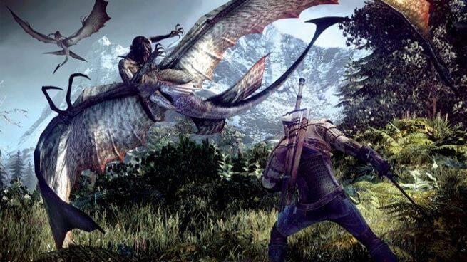 The Witcher 3: Wild Hunt - Geralt lucha contra sirenas