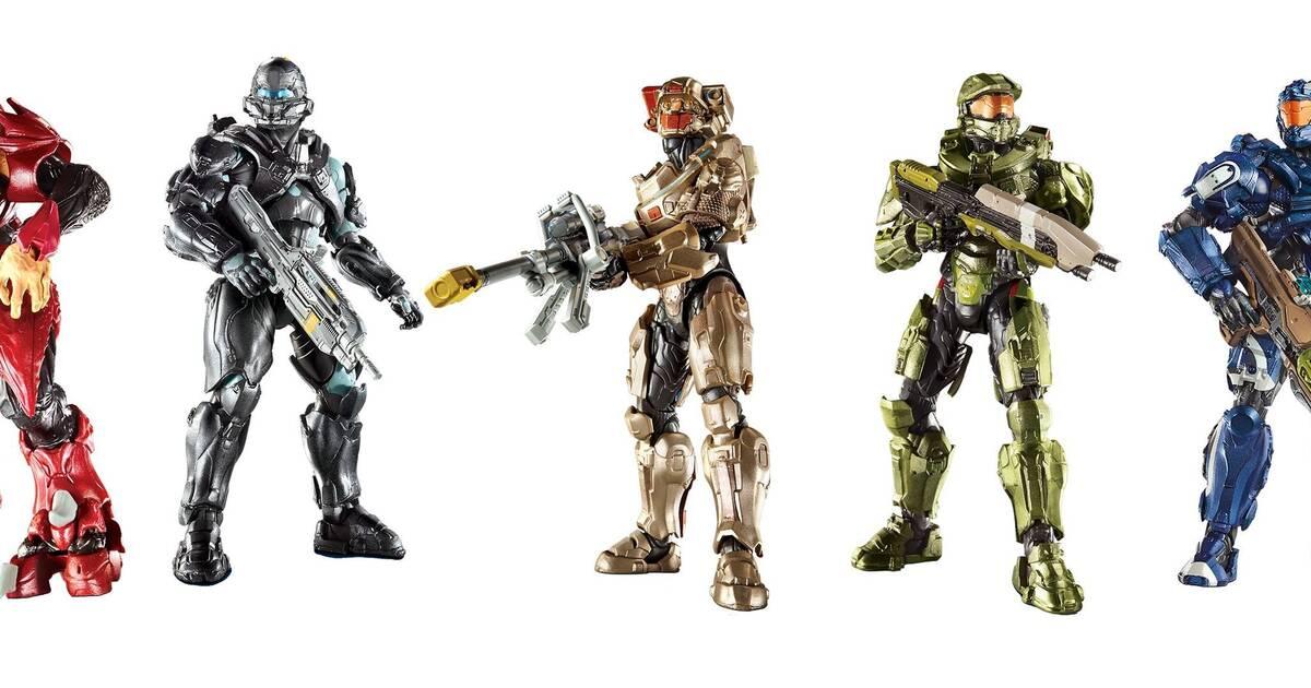 Halo contará con nuevos juguetes, figuras y accesorios de coleccionista el próximo otoño