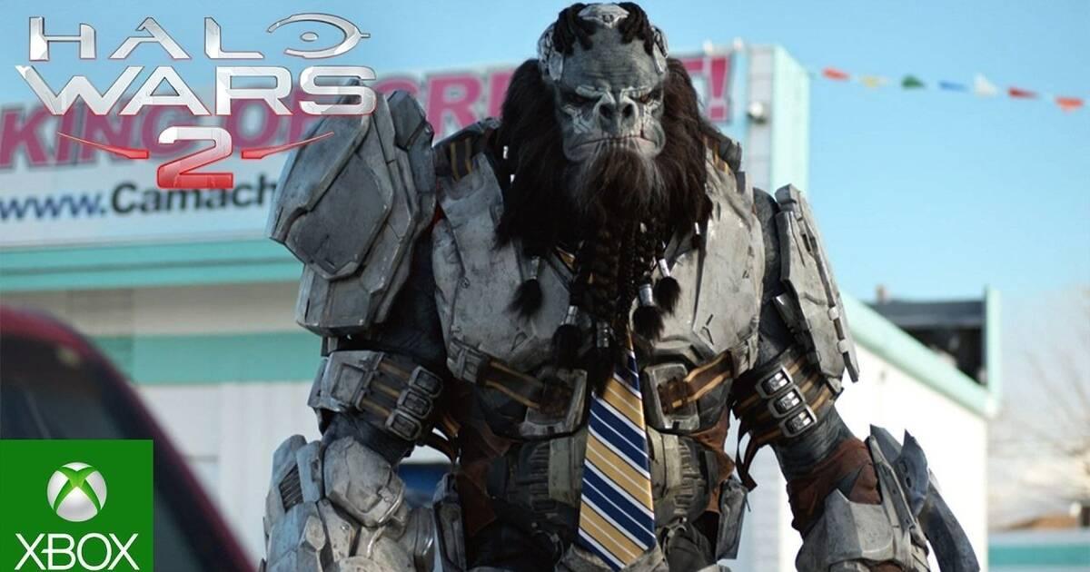 Halo Wars 2 presenta dos divertidos vídeos de acción real