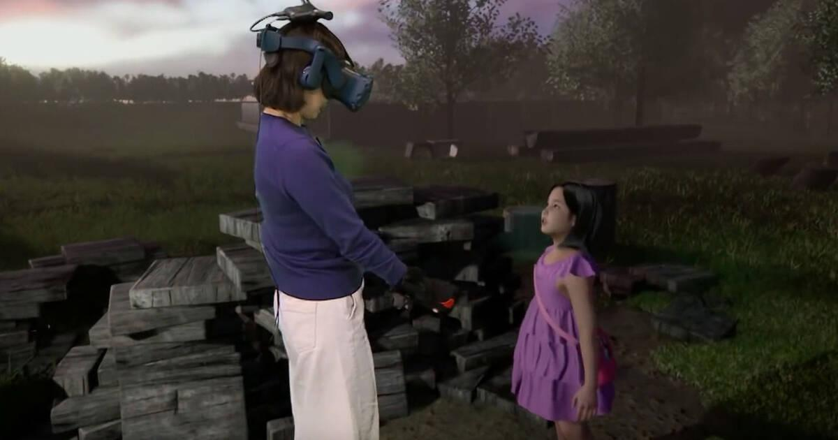 Image result for madre hija fallecida realidad virtual