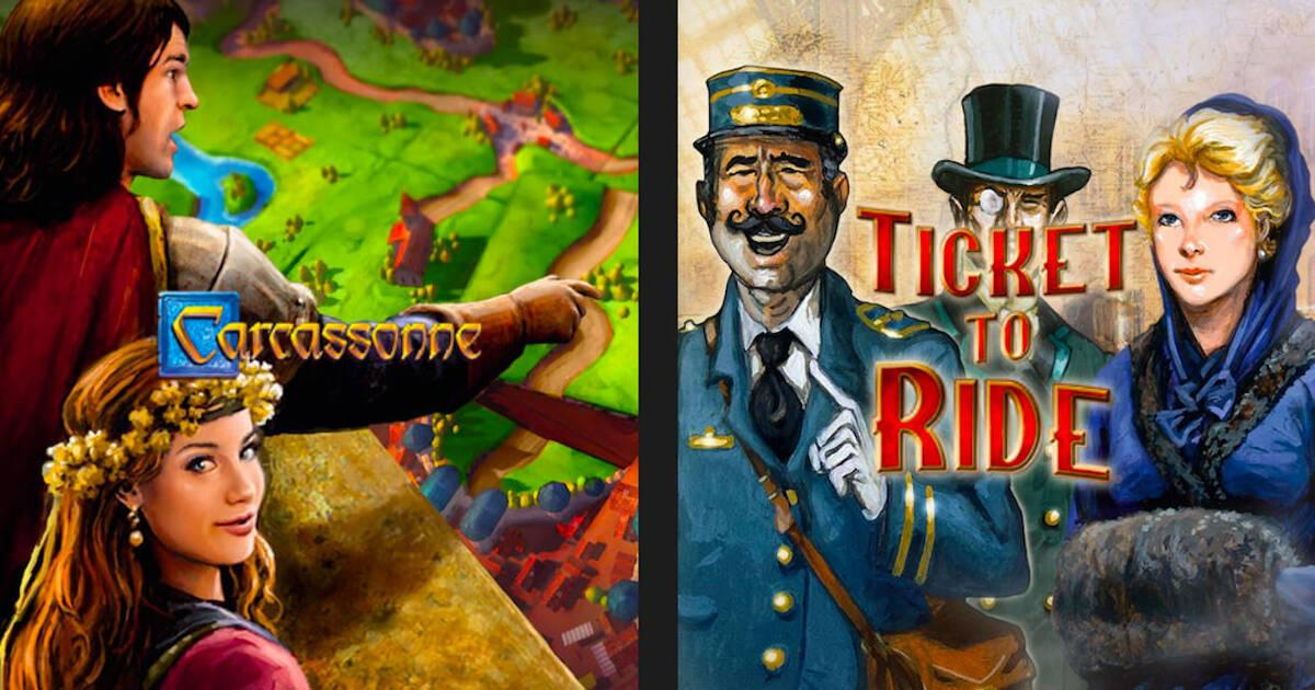 Epic Games Store: Carcassonne y Ticket to Ride ya están ...