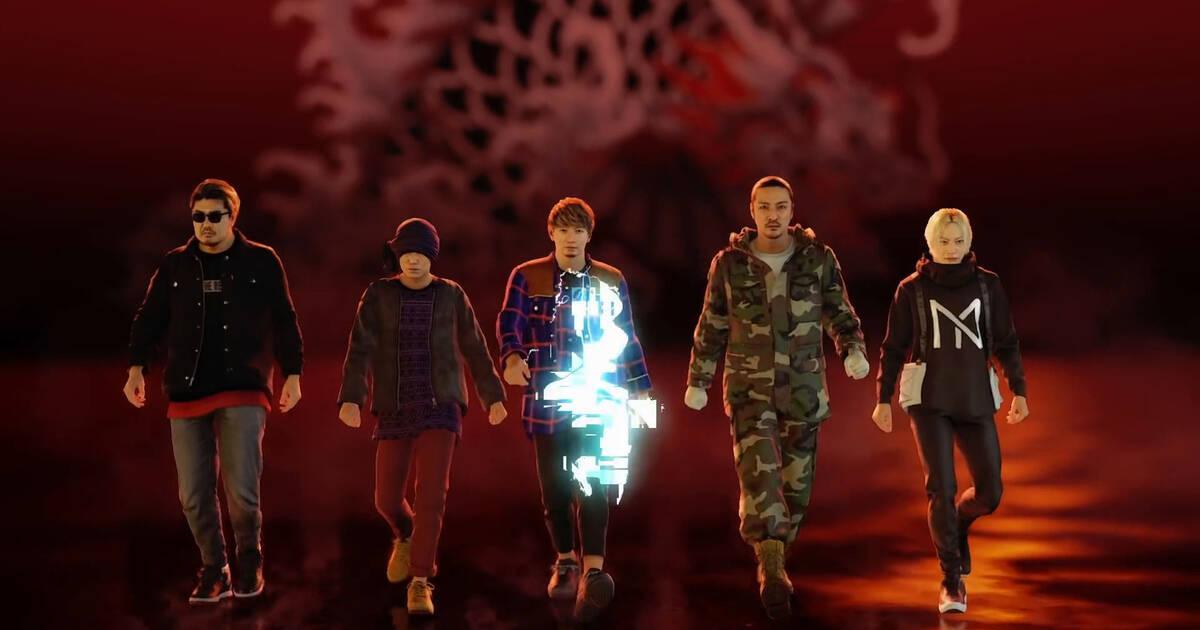 Yakuza: Like a Dragon presenta un videoclip con los gráficos del juego
