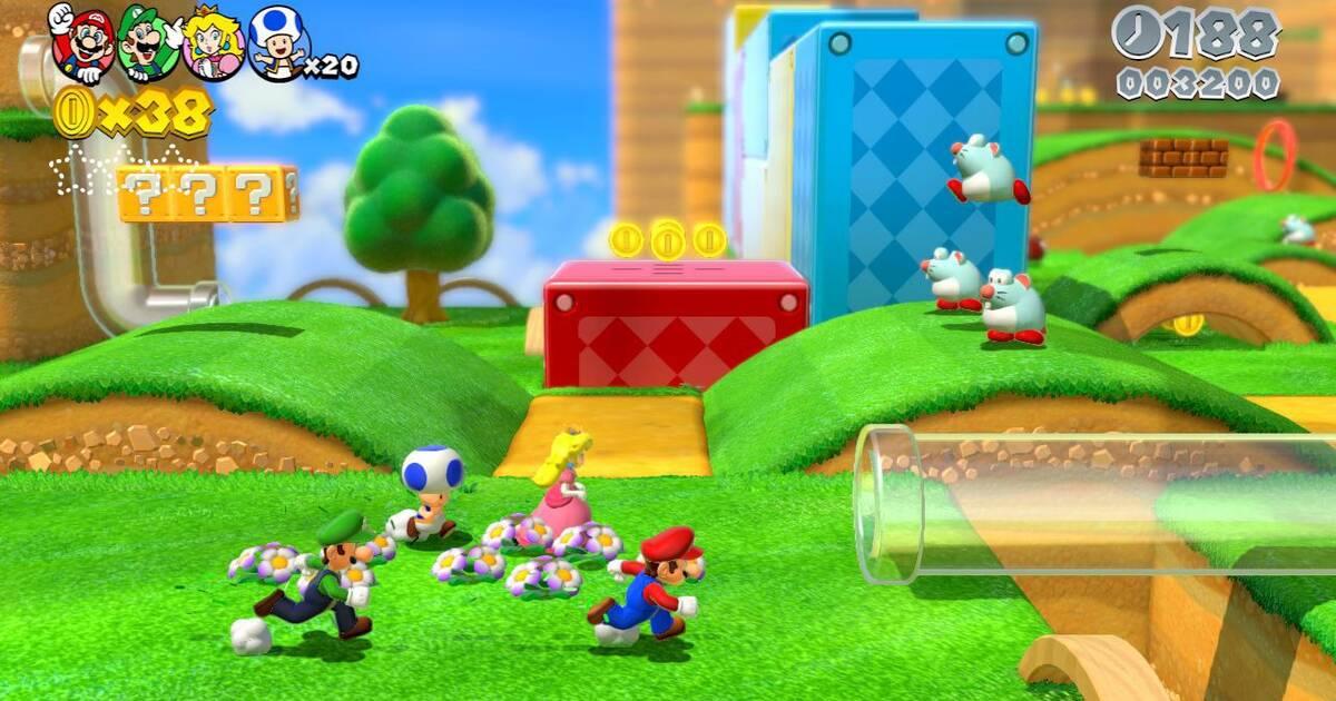 Super Mario 3D World se podrá jugar con el mando Pro Controller ...