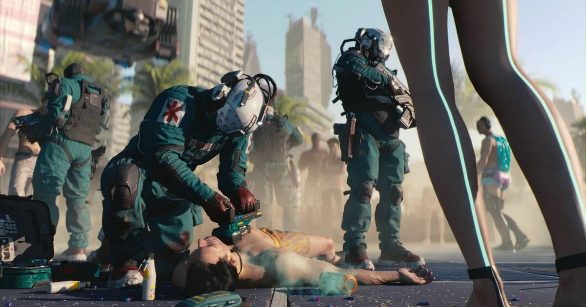 """Cyberpunk 2077 tendrá su propia serie de cómics en septiembre: """"Trauma Team"""""""