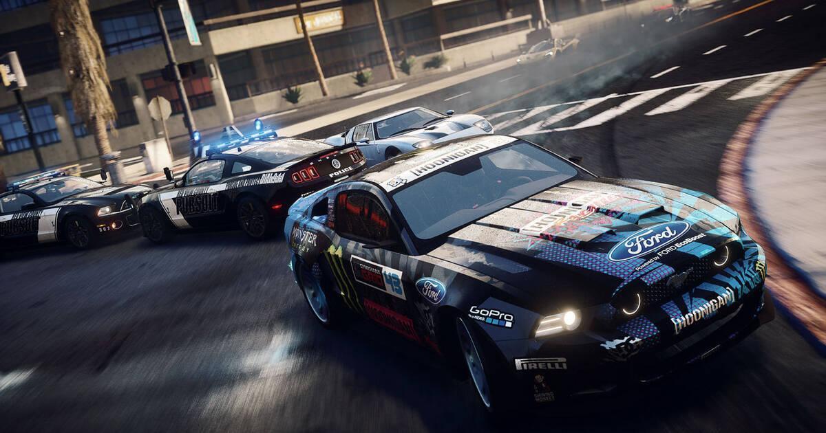 Need for Speed Rivals se luce también en PS4