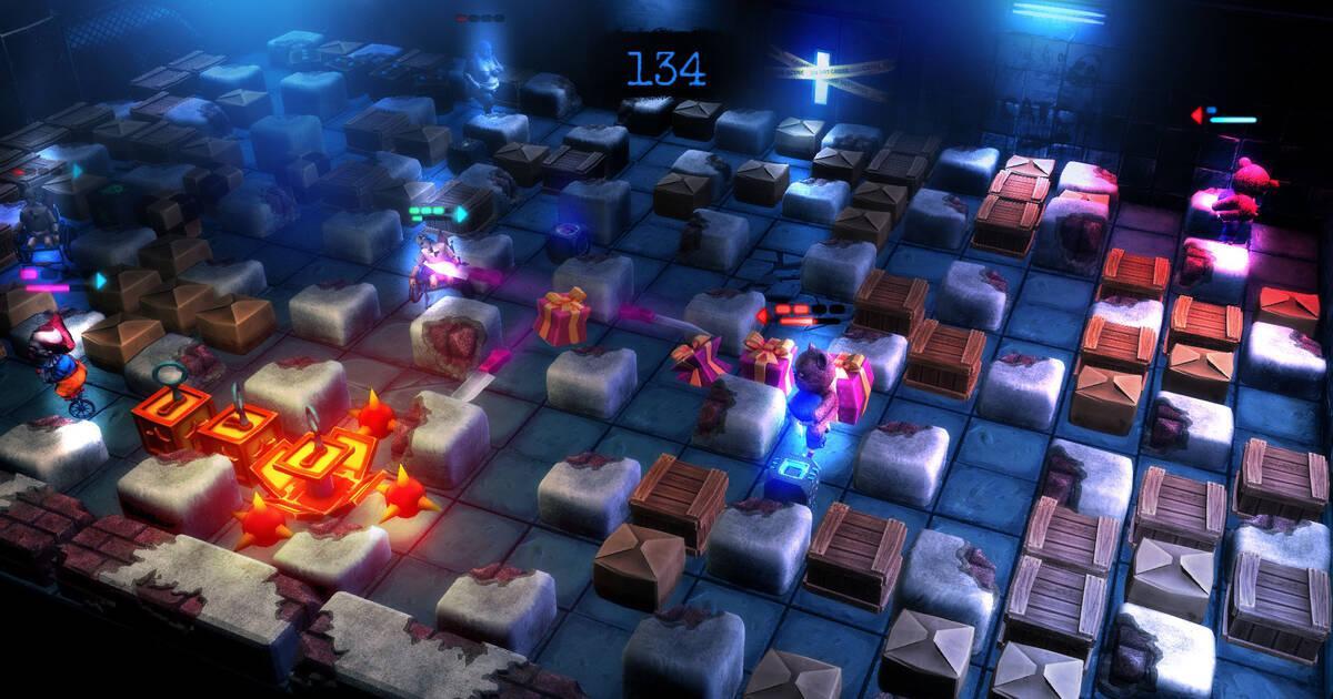 Nuevas imágenes de Basement Crawl para PlayStation 4