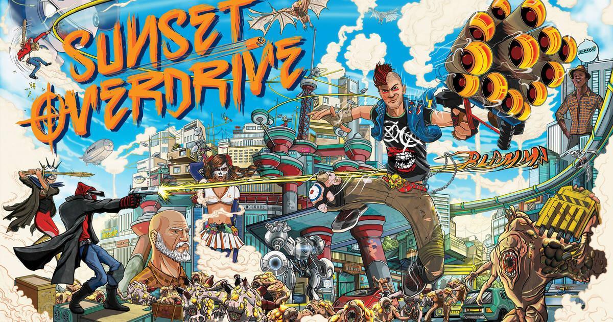 La licencia Sunset Overdrive ahora pertenece a Sony y PlayStation
