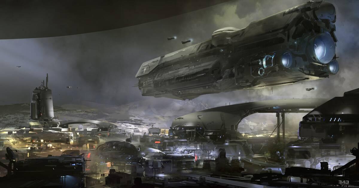 Nueva ilustración del próximo Halo