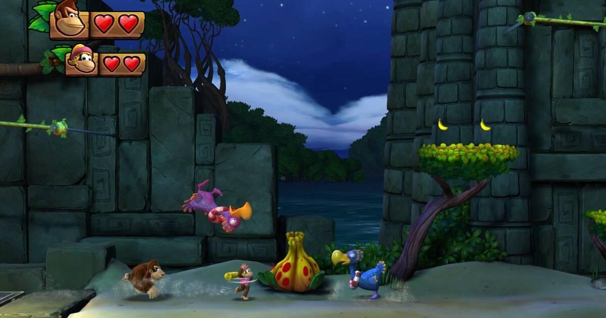 Dixie Kong se luce en el nuevo tráiler de Donkey Kong Country: Tropical Freeze
