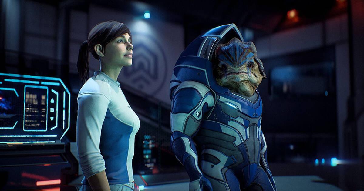 Las escenas de sexo en Mass Effect: Andromeda son porno