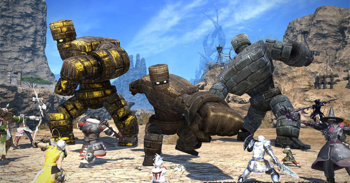 Square Enix hará un cruce entre sus juegos masivos en línea