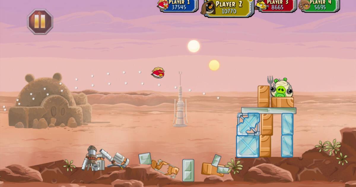 Angry Birds Star Wars confirma su lanzamiento en PS4 y Xbox One