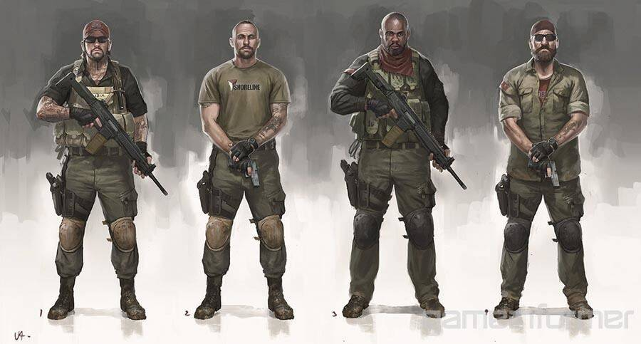 Nuevas ilustraciones de Uncharted 4