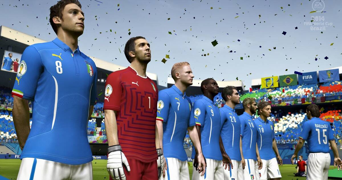 Nuevas imágenes de EA Sports Copa Mundial de la FIFA Brasil 2014