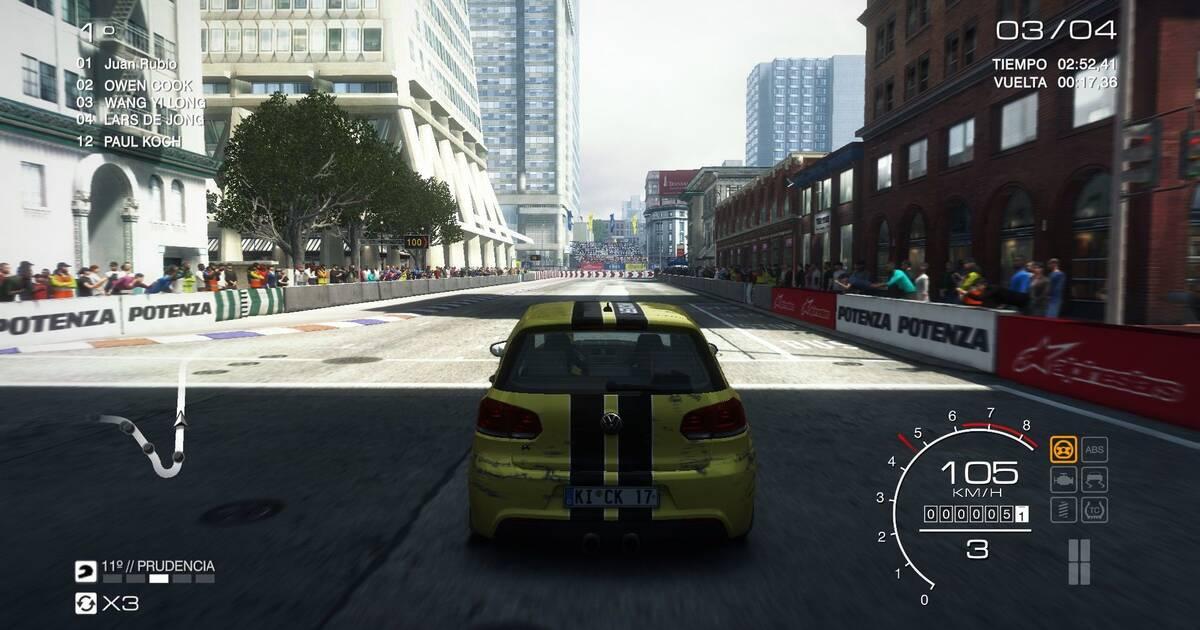 Nuevas imágenes de GRID: Autosport en su versión para PC