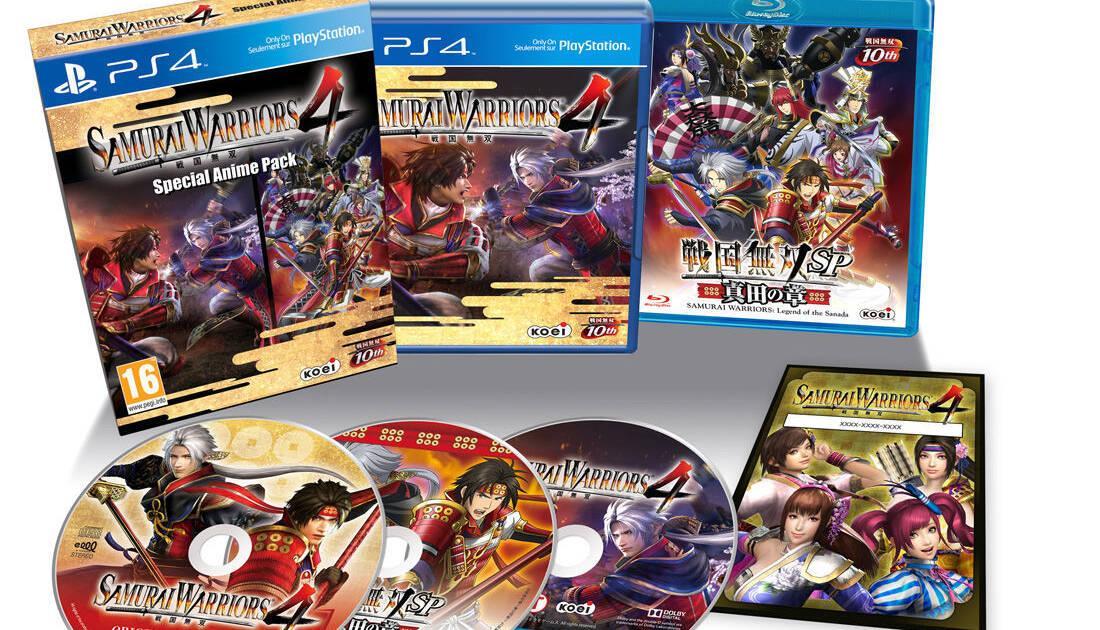 Samurai Warriors 4 tendrá una edición especial en PS4