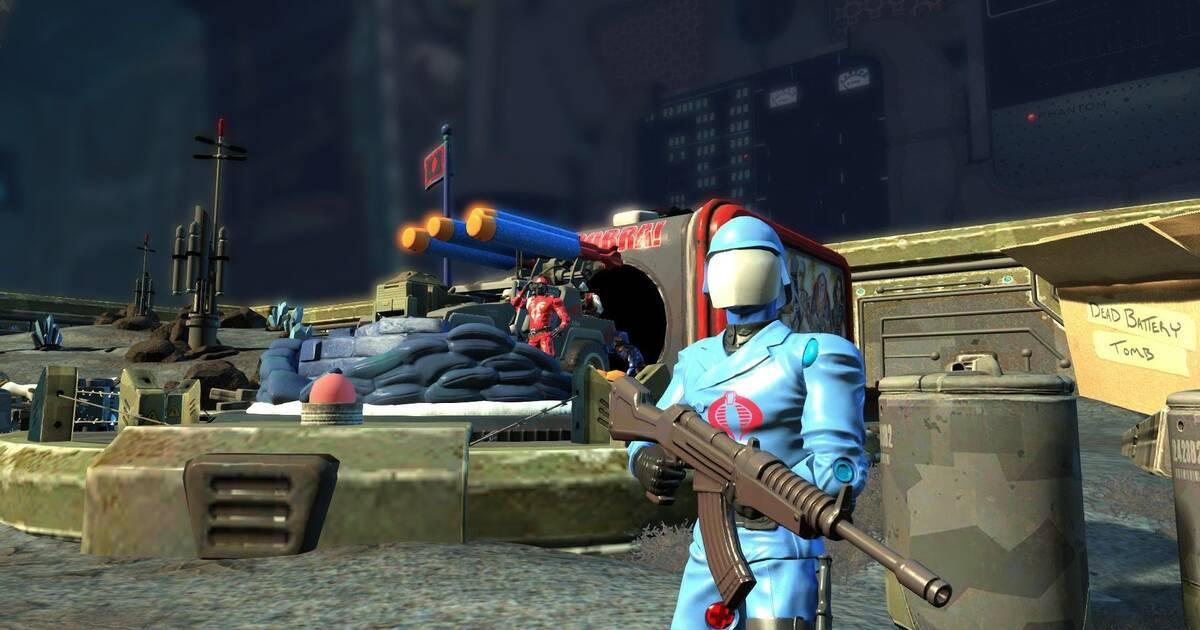 Los ejércitos de Cobra y Assassin's Creed se sumarán a Toy Soldiers: War Chest