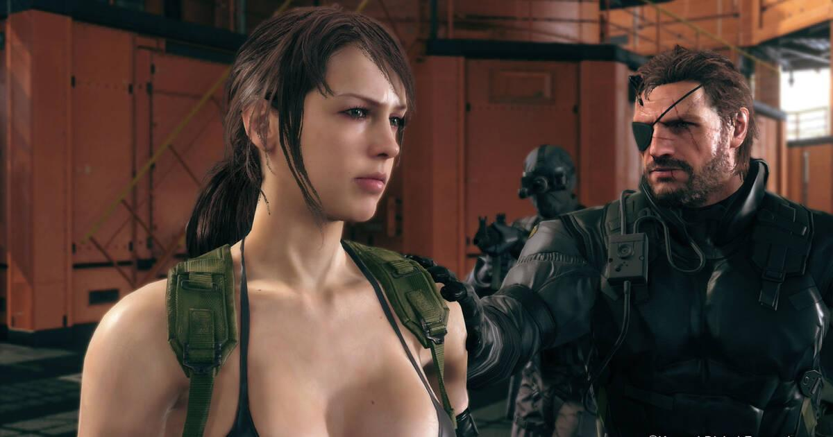 Quiet se muestra en Metal Gear Solid V: The Phantom Pain