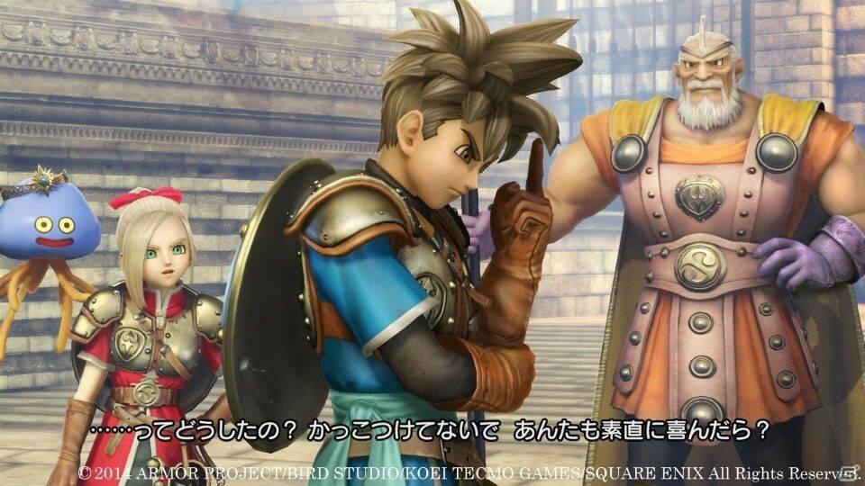 El jugador podrá luchar junto a monstruos en Dragon Quest Heroes