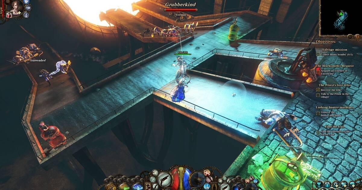 The Incredible Adventures of Van Helsing llega a Xbox One el 1 de diciembre